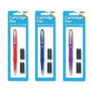 Tiger Ink Cartridge Fountain Pen with 4 Ink Cartridges